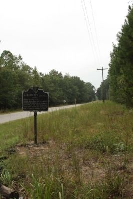 Strawberry Chapel Marker seen along Strawberry Church Road image. Click for full size.