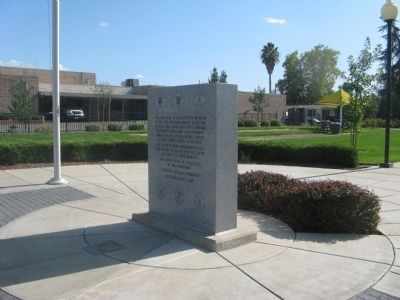 Rocklin Veterans Memorial image. Click for full size.