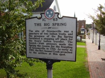 The Big Spring Marker image. Click for full size.