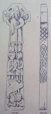 Doorty High Cross Illustration on Marker image. Click for full size.
