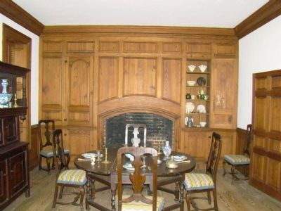 Memorial House Dining Room image. Click for full size.