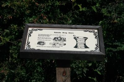 Cahaba Drug Store Marker image. Click for full size.