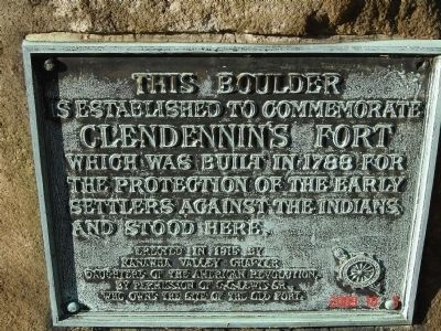 Fort Clendenin Marker image. Click for full size.