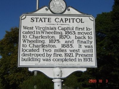 State Capitol Marker image. Click for full size.