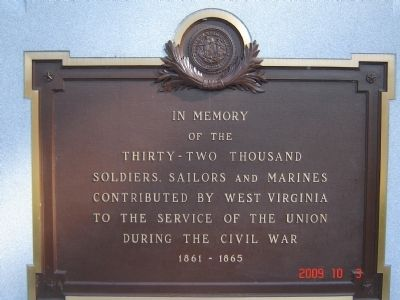 Union Civil War Monument Marker image. Click for full size.