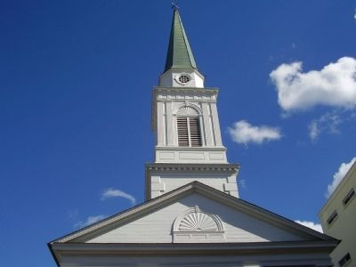 First Presbyterian Church Steeple image. Click for full size.