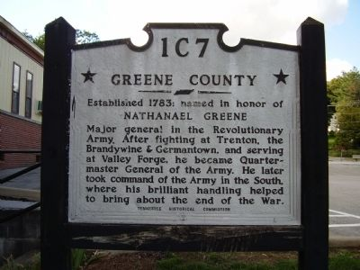 Green County Marker image. Click for full size.