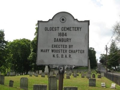 Oldest Cemetery 1684 Marker image. Click for full size.