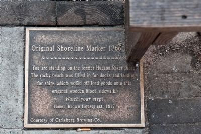 Original Shoreline 1766 Marker image. Click for full size.