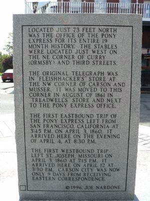 Rear View of Marker and Marker Inscription image. Click for full size.