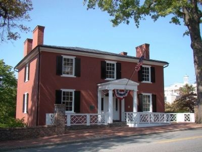 Birthplace of Woodrow Wilson image. Click for full size.