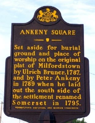 Ankeny Square Marker image. Click for full size.