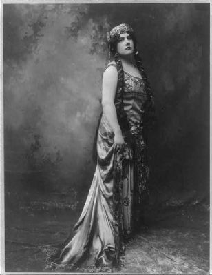 Emmy Destin, circa 1909 image. Click for full size.