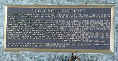 """Colored Cemetery"" Marker image. Click for full size."