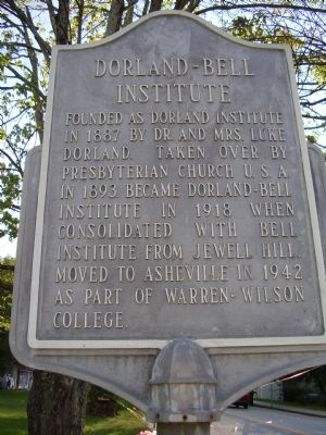 Dorland - Bell Institute Marker image. Click for full size.