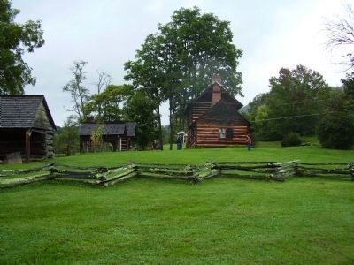 Vance Birthplace Historic Site image. Click for full size.