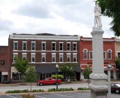 Laurens County Square -<br>South Side image. Click for full size.