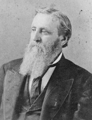 Governor William D. Simpson<br>(1823&#8211;1890) image. Click for full size.