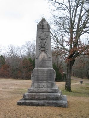 6th Indiana Infantry Monument image. Click for full size.