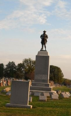 Winterset World War I Memorial Marker image. Click for full size.