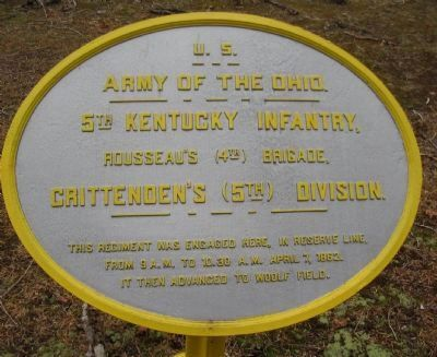 5th Kentucky Infantry Tablet image. Click for full size.
