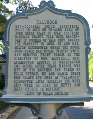 Tallwood Marker image. Click for full size.