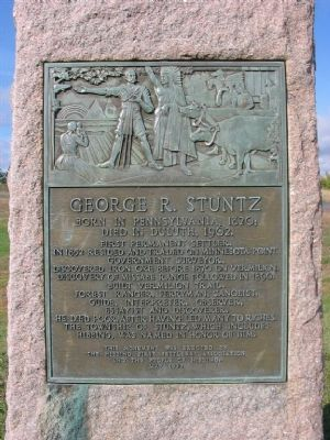George R. Stuntz Marker image. Click for full size.
