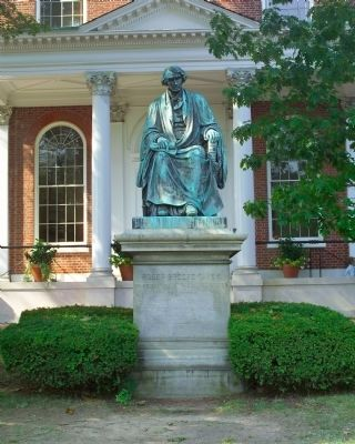 Nearby Roger Brooke Taney Statue image. Click for full size.