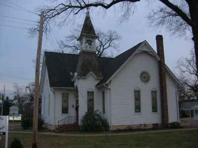 Magothy Methodist Church image. Click for full size.