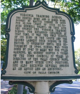 Front Side of Marker image. Click for full size.