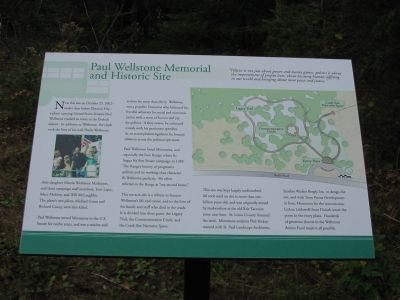 Paul Wellstone Memorial and Historic Site Marker image. Click for full size.