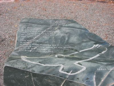 Entry Plaza Poem image. Click for full size.