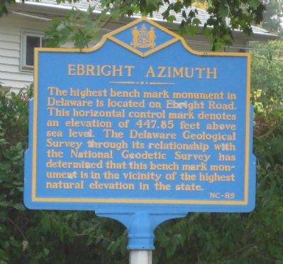 Ebright Azimuth Marker image. Click for full size.