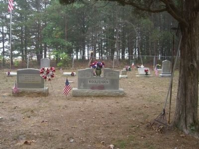 "Gravesite of Raymond ""Cousin Ray"" Woolfenden, Sr. image. Click for full size."
