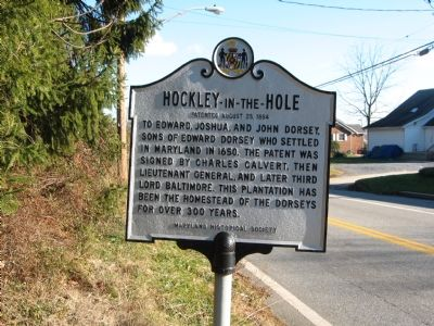 Hockley-in-the-Hole Marker image. Click for full size.