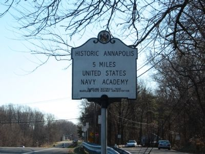 Historic Annapolis Marker image. Click for full size.