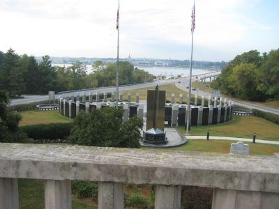 Overlook of Annapolis and Naval Academy image. Click for full size.