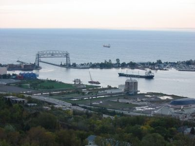 Duluth Ship Canal & Harbor image. Click for full size.