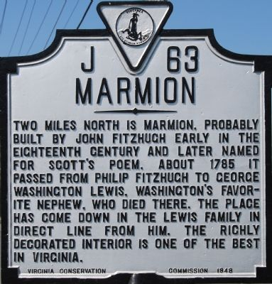 Marmion Marker image. Click for full size.