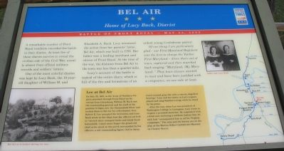 Bel Air Marker image. Click for full size.
