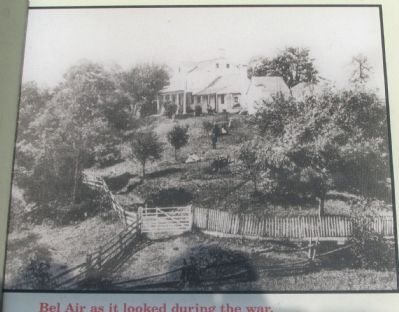 Bel Air as it Appeared During the War image. Click for full size.