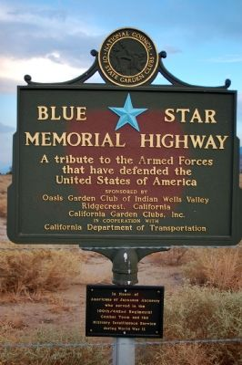 Blue Star Memorial Highway image. Click for full size.