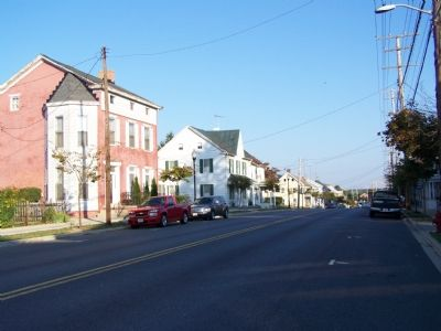 Looking north on Main Street image. Click for full size.