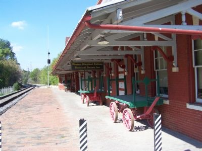 Western Maryland Railroad Station image. Click for full size.