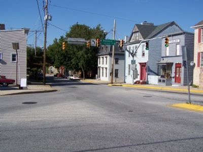 Buildings along Main Street in Westminster image. Click for full size.