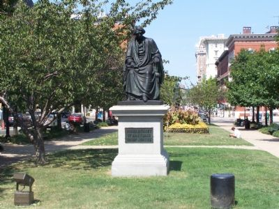 Roger B. Taney Monument image. Click for full size.