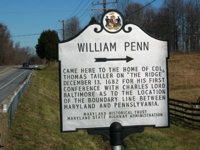 William Penn Marker image. Click for full size.