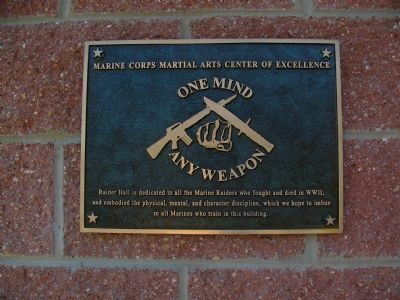 Raider Hall Marker image. Click for full size.