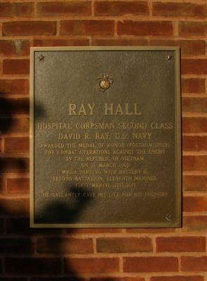 Ray Hall Marker image. Click for full size.