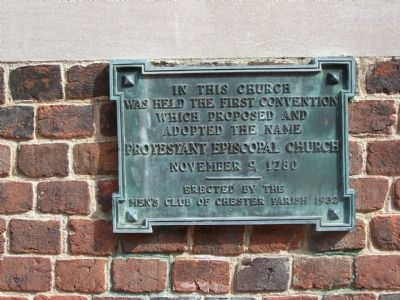 In This Church Marker image. Click for full size.